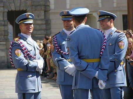Patrol, Guard, Prague Castle, Babysitting