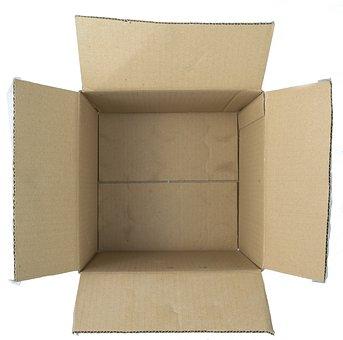 Box, Open, Top, Package, Packaging, Empty, Cardboard