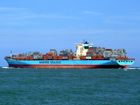 Arnold Maersk, Ship, Vessel, Container, Freight, Cargo