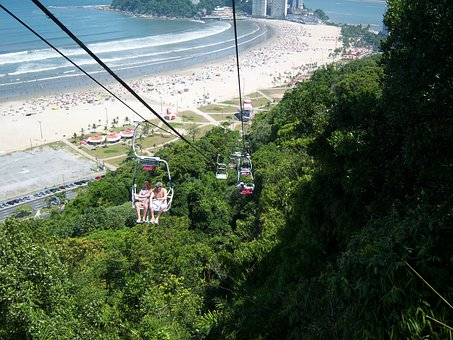 Cable Car, Atlantic Forest, Forest, Tropical Vegetation