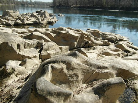 Glacial Troughs, Ice Age, Upper Rhine, Rock, Geology