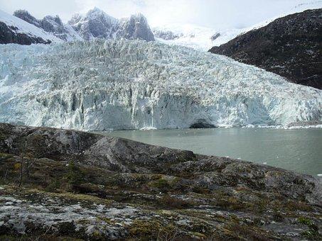 Pia Glacier, Ice, Glacial, Nature