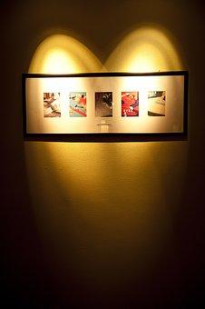God Of Love, Photo Wall, Love Light, Art Gallery