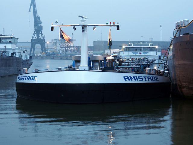 Amistade, Ship, Rotterdam, Harbour, Port, Freight