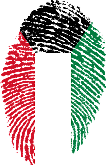 Kuwait, Flag, Fingerprint, Country, Pride, Identity