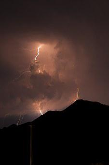 Lightning, Night, Yalıkavak