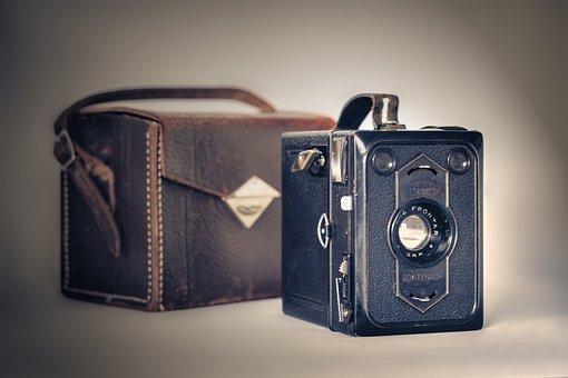 Camera, Old, Nostalgia, Retro Look, Flea Market