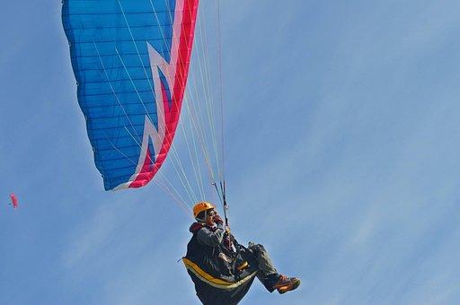 Paraplane, Sports, Extreme, Event, Action, Blue Event