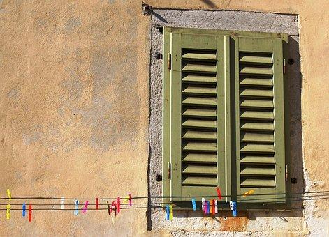 Window, Tweezers, Facade, Drying Rack