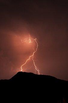 Lightning, Night, Yalıkvak
