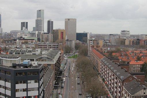 Rotterdam, Goudsesingel, Architecture
