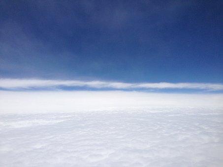 Clouds, Sky, Blue, Puff Clouds, Puff