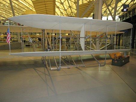Wright, Brothers, Flight, Airplane, Hawk, Kitty