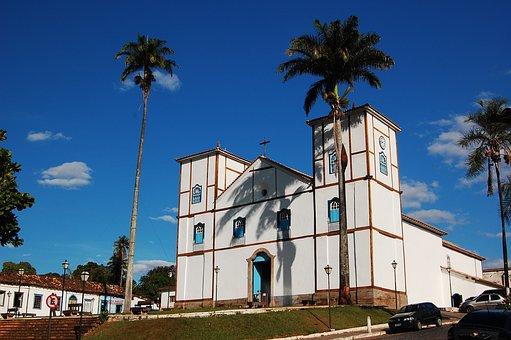 Church, Architecture, Brazil, Construction, Centennial