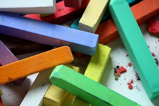 Color, Chalks, Pastels, Creative, Colorful, Creativity