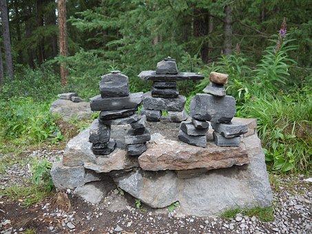 Inukshuk, Symbols, Inuit, Canada, Characters, Directory