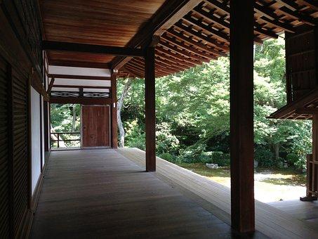 Under The Eaves, Japanese Style, Kyoto, Japan House, K