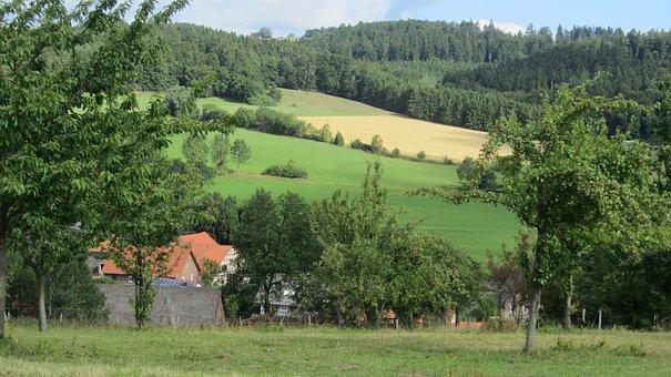 Sauerland, Agriculture, Nature, Landscape