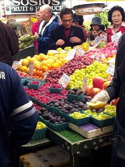 Farmers Market, Fruit, Vegetable, Market, Healthy