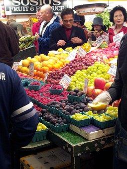Farmers Market, Fruit, Vegetable, Market, Healthy