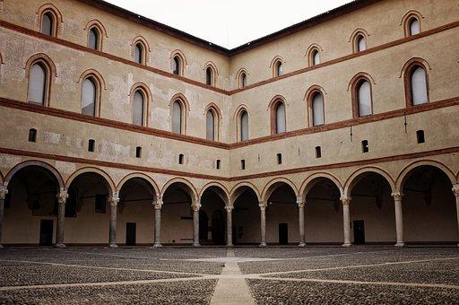 Sforzesco Castle, Milan, Italy