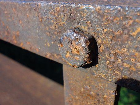 Stainless, Screw, Rusty, Railing, Allen, Mother
