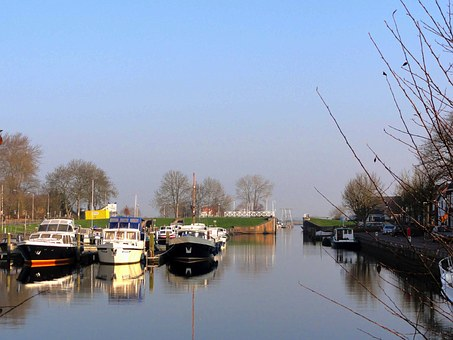 Genemulden, Netherlands, Sky, Clouds, Scenic, Bay