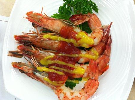 Shrimp, Shrimp Tempura, Seafood, Food, Cooking