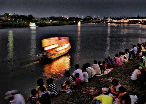 Japan, Festival, Nagasaki, Tradition, Water, Summer