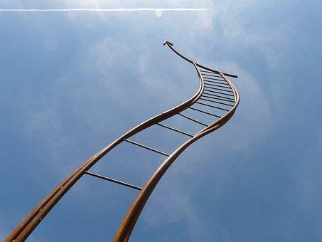 Artwork, Head, Jacob's Ladder, Arrow, Timmelsjoch, Iron
