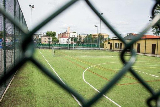 The Pitch, Court, Sport, Tennis, School