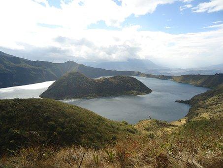 Laguna, Yuyucocha, Imbabura, Ecuador