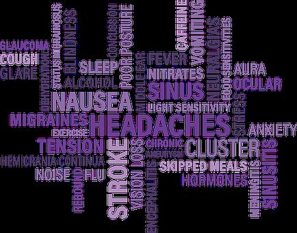 Headaches, Nausea, Cluster, Tension, Ocular, Eye