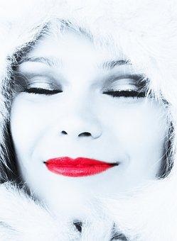 Beautiful, Cold, Dreamy, Face, Fantasy, Fashion, Female