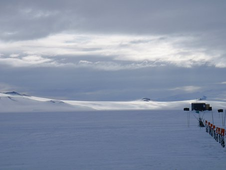 Antarctica, Williams, Field, Ross, Island, Ice, Shelf