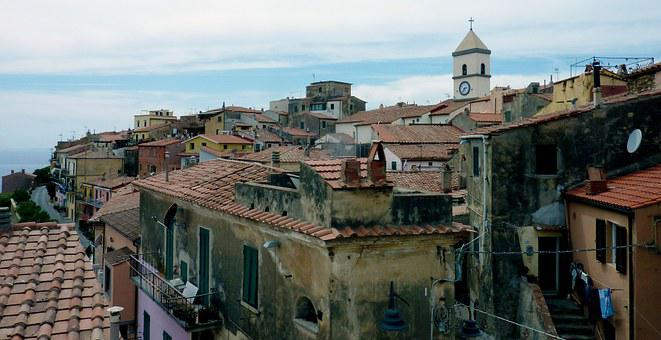 Capoliveri, Village, Italy, Homes, Tuscany, Bergdorf