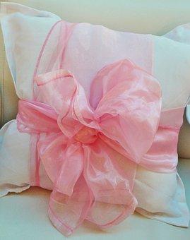Pillow, Sofa Cushions, Loop, Sofa, Pink