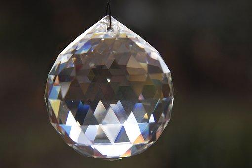 Prism Ball, Geometric Body, Decorative, Decoration