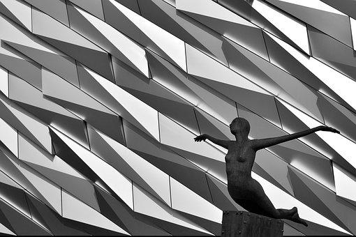 Belfast, Titanic Museum, Figure, The Structure Of The