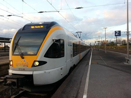 Euro Rail, Train, Traffic, Transport, Railway