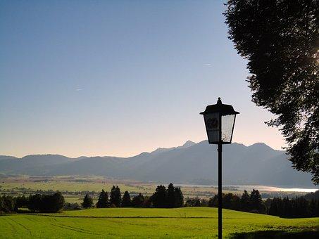 Upper Bavaria, Bavaria, Kreutalm, Kochelsee, Alpine