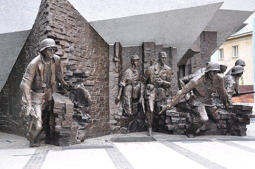 Poland, Warsaw, Warsaw Uprising, Monument