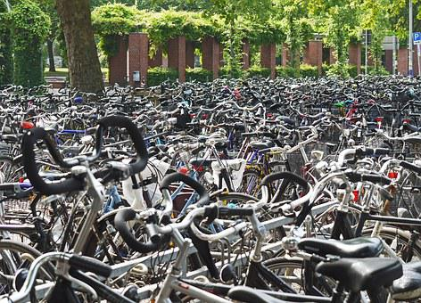 Cyclemania, Abstellanlage, Bike Racks, Park