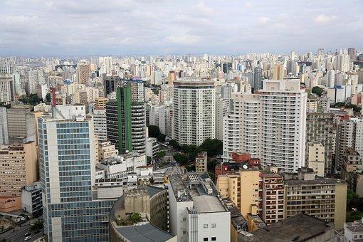 São Paulo, Buildings, Urban, Aerial Photography