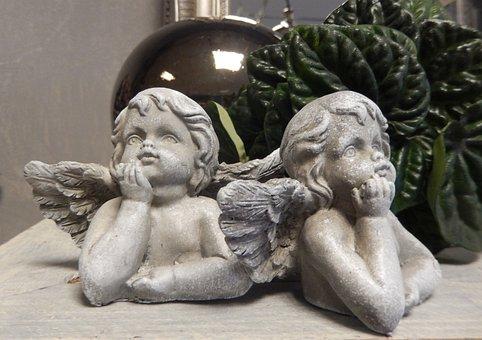 Angel, Putten, Angel Figurines, Dreams, Baroque