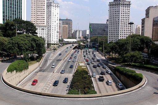 São Paulo, Anhangabaú, Av May 23