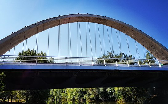 Bridge, Architecture, Oblates, Pamplona
