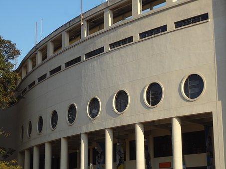 Pacaembu Stadium, Architecture, São Paulo