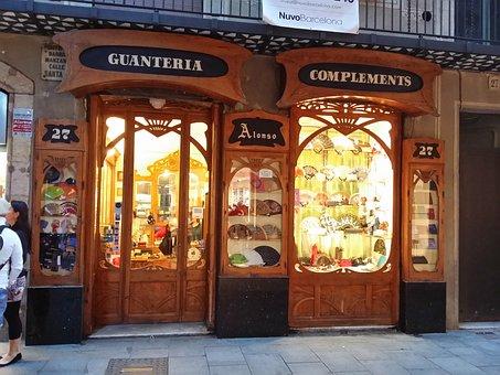 Barcelona, Modernism, Shophouse, Art Nouveau