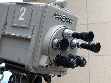 Camera, Film, Film Camera, Lens, Watch Tv, Broadcast